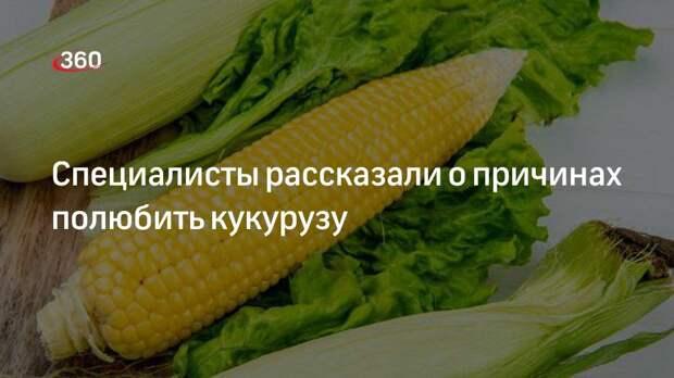 Специалисты рассказали о причинах полюбить кукурузу