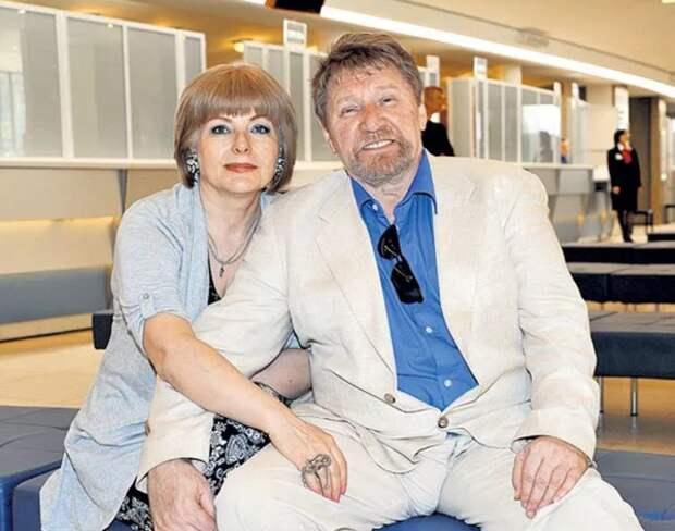 С. Морозов с третьей женой Светланой