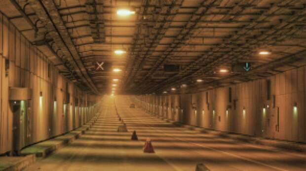 Петербургских автомобилистов предупредили об ограничении движения в тоннеле дамбы