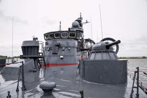 Малый десантный корабль Зубр: самый большой на воздушной подушке