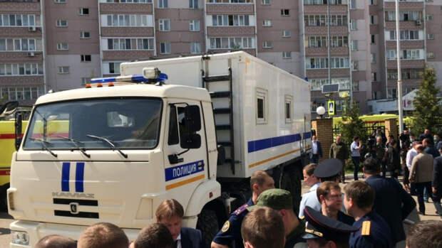 Власти могут досрочно отправить на каникулы казанских школьников после трагедии в гимназии