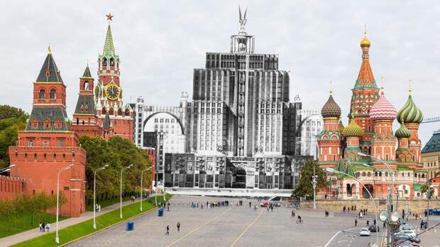 Несостоявшиеся проекты: как мог бы выглядеть Кремль и Красная площадь