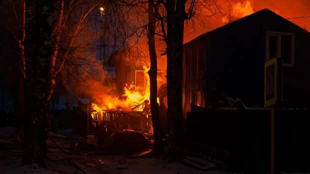 Тела двоих малолетних детей найдены на месте пожара под Иркутском
