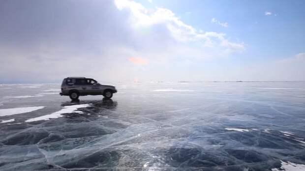 Проезд по ледовой переправе: как не утонуть