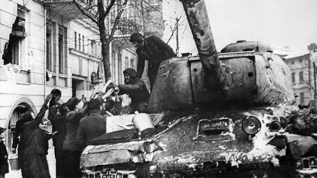 Минобороны рассекретило документы об освобождении Польши в 1945 году