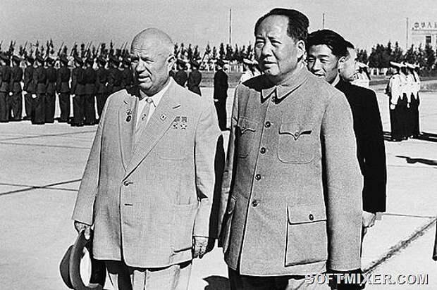 """Как Хрущёв и Мао раскололи """"великую дружбу"""""""