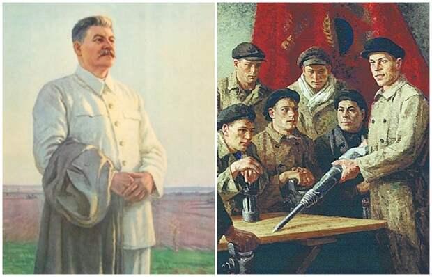 Как Сталин контролировал и руководил искусством в Советском Союзе, или Как появился социалистический реализм