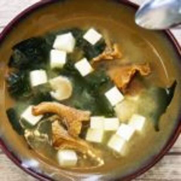 Мисо суп – японская кухня