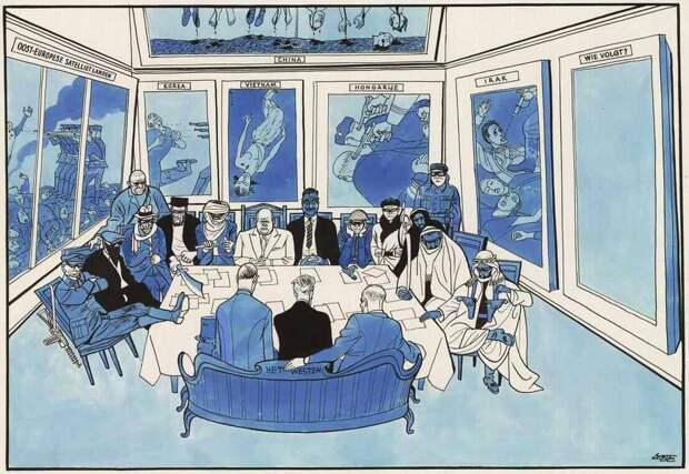 Никита Хрущев и его преступные союзники на Совещание представителей коммунистических и рабочих партий социалистических и капиталистических стран