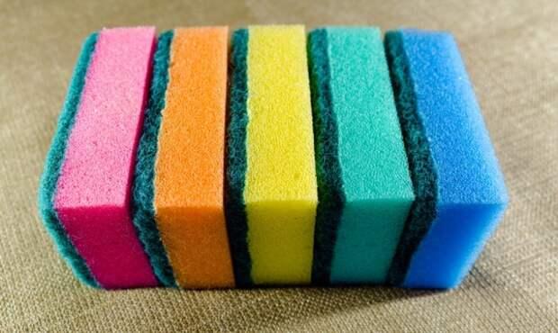 Что означают цвета губок для мытья посуды