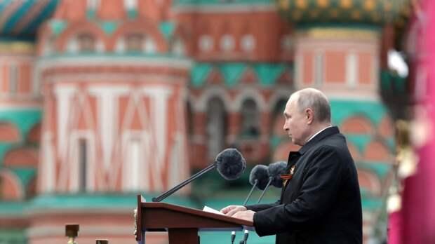 Экономист Хазин интерпретировал речь Путина на параде Победы 9 Мая