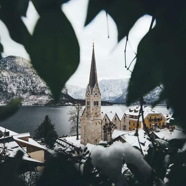 Замки, леса, озера - удивительная природа Германии. 13 фото