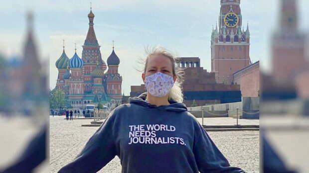 Высылаемая из Москвы пресс-секретарь посольства США: было честью работать в России