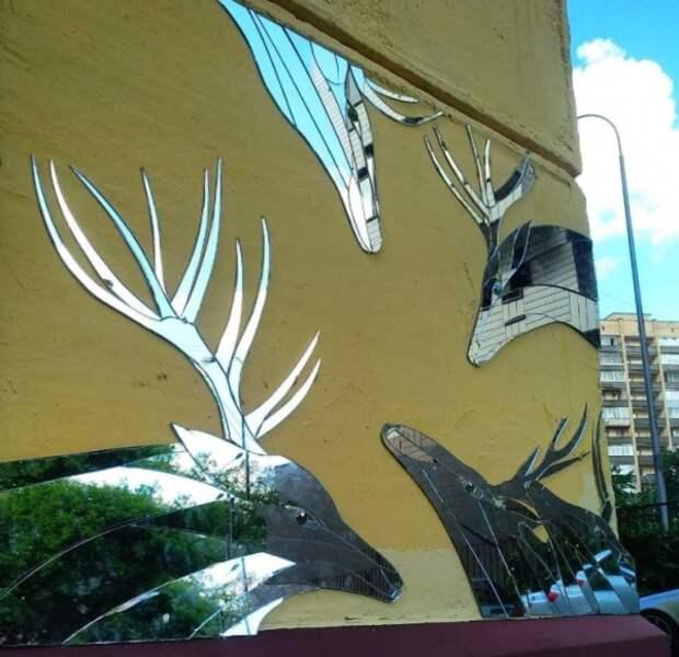 Зеркальные олени на Петровско-Разумовской аллее переживут капремонт дома