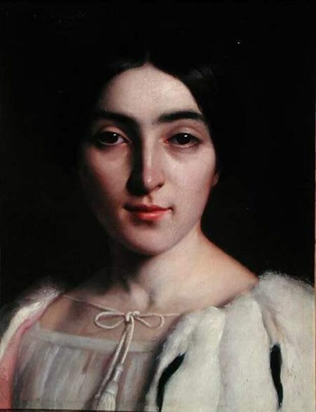 Фото: liveinternet.ru портрет Адели Гюго - младшей наследницы писателя Виктора Гюго