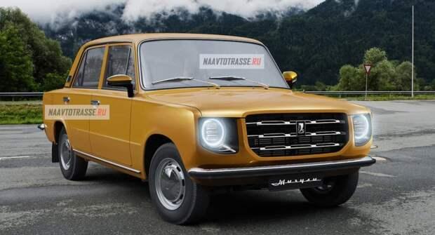 В Сети представили рендеры возрожденного ВАЗ-2101