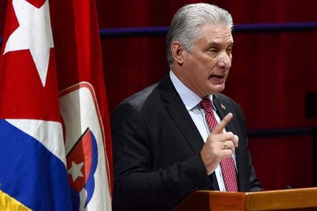 Мигель Диас-Канель возглавил Компартию Кубы