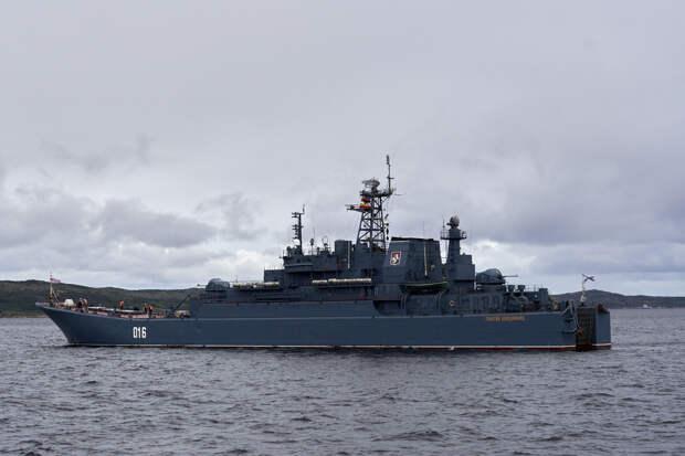 Корабли Северного флота показали свои возможности на Североморском рейде