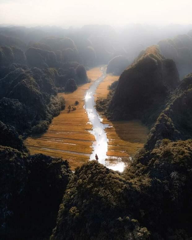 Юго-Восточная Азия с высоты птичьего полета: фотографии с дрона азия, аэросъемка, аэрофотография, дрон, квадрокоптер, красота, пейзажи, фотограф