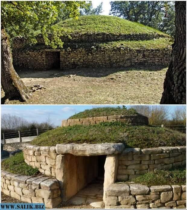 Бугонский некрополь состоит из 5 мегалитических погребальных курганов, которые неплохо сохранились до наших дней.