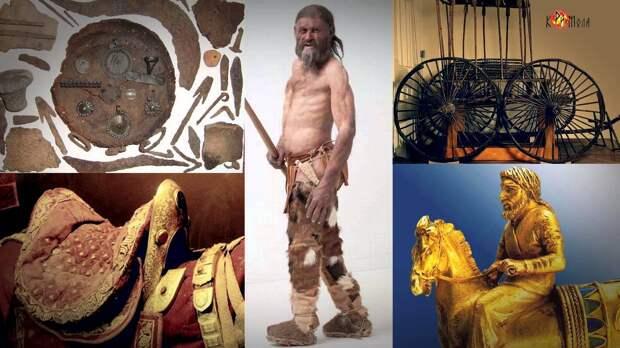 В Центральной Азии в древности жила белая раса.