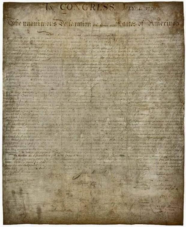 Декларация независимости Соединенных Штатов of Жmerinca