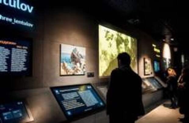 В подземном музее Зарядья открылась выставка Лентулова