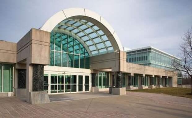 На фото: здание ЦРУ