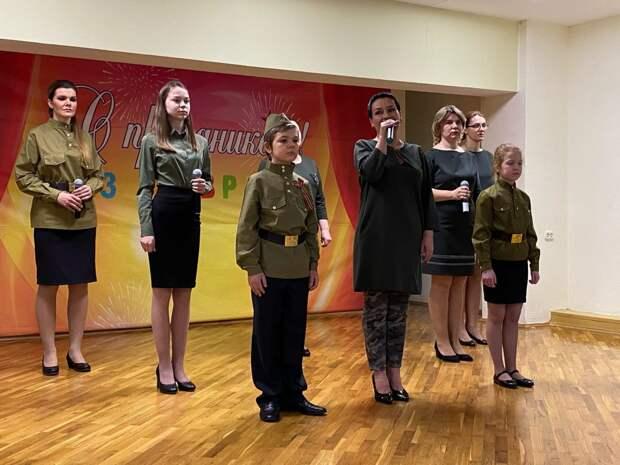 В досуговом центре на Полярной прошел концерт ко Дню защитника Отечества