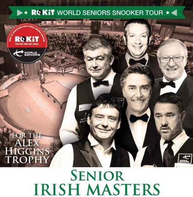Seniors Irish Masters 2020. Результаты, турнирная таблица