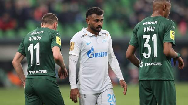 «Краснодар»— «Зенит»: все голы матча РПЛ