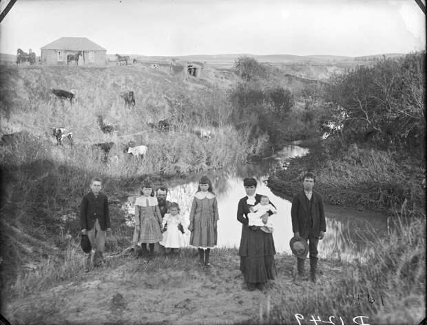 Как поднималась американская целина. Архивные фотографии пионеров Великих равнин конца 19-го века 33