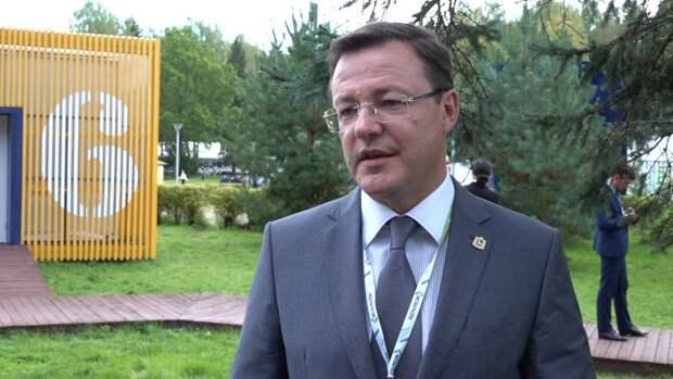 Азаров назвал причины успеха Самарской области на ПМЭФ-2021