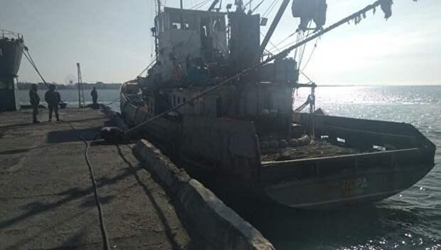 """Экипажу судна """"Норд"""" не позволили покинуть Украину"""