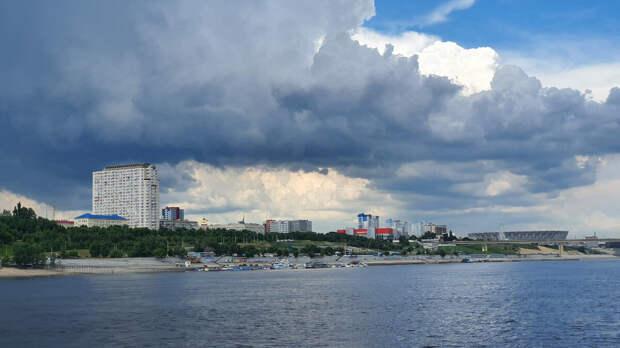 Вид на городод Волгоград