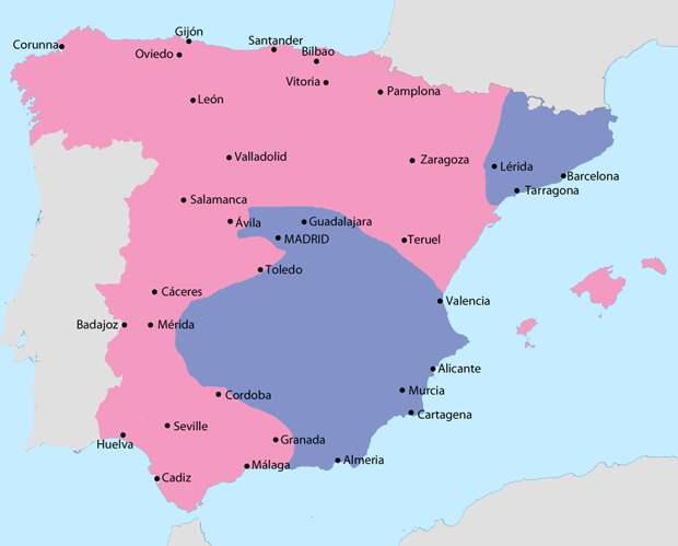 Положение Испанской Республики к лету 1938 года - Каталония: сепаратизм под сенью эстелады | Военно-исторический портал Warspot.ru