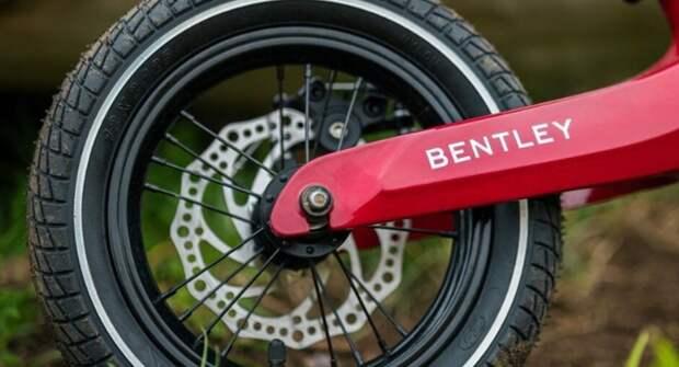 Представлен беговел Bentley за 47 000 рублей