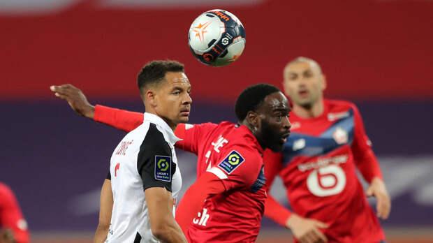 «Лилль» упустил очки в Лиге 1, сыграв вничью с «Монпелье»