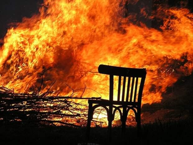 При пожаре в Бугуруслане погибла мать с дочерьми трех и пяти лет