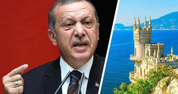 Слова Эрдогана о Крыме дорого стоили туристической отрасли Турции