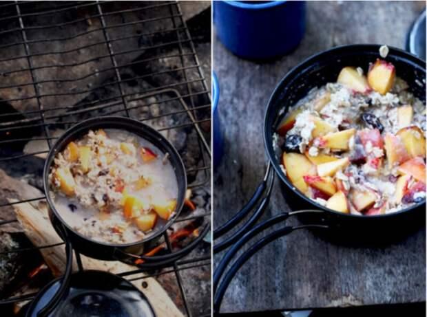 11 аппетитных завтраков, которые можно приготовить в лесу
