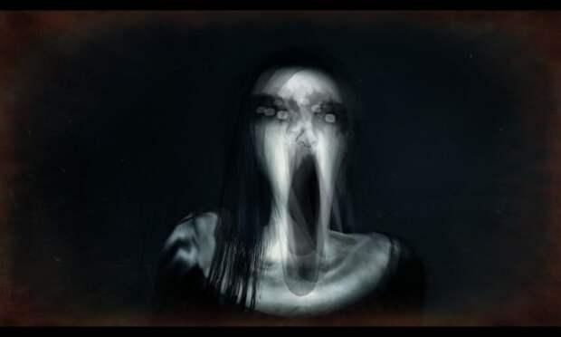 Призрак женщины преследовал водителя всю дорогу (жуткие кадры)