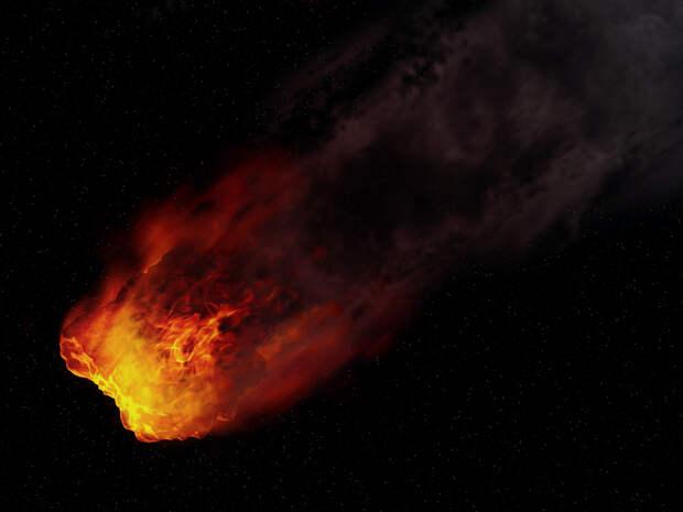 К Земле вновь мчится опасный астероид