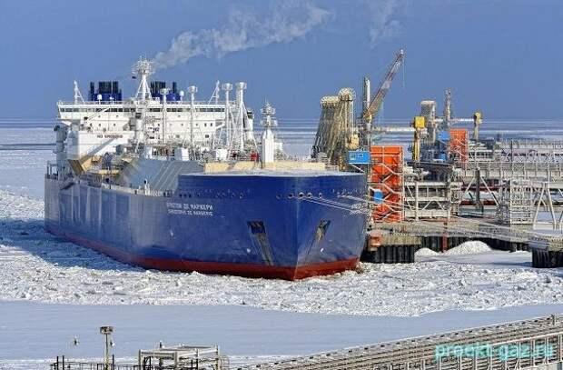 """""""Ямал СПГ"""" отгрузил на экспорт первый миллион тонн продукции"""