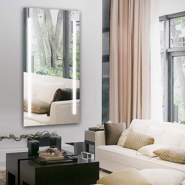 Примеры использования зеркал как акцента, преображающего интерьер