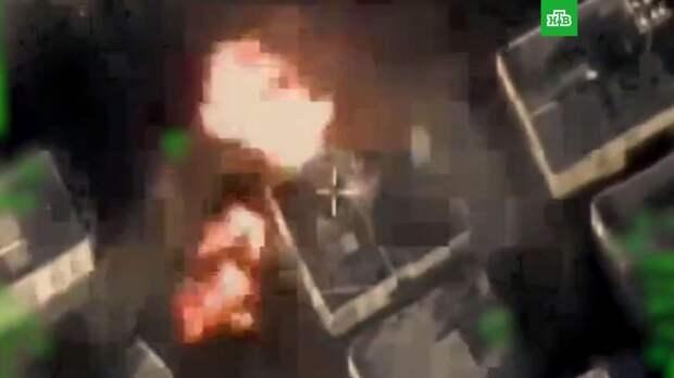 ВВС Израиля уничтожили главный штаб службы безопасности ХАМАС: видео