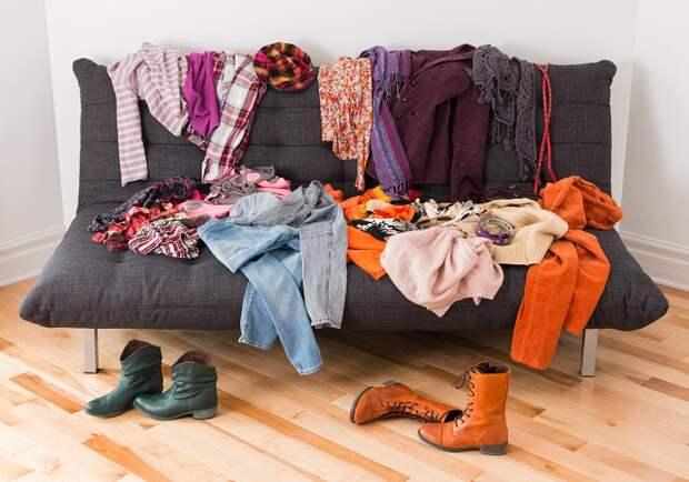 разбор гардероба
