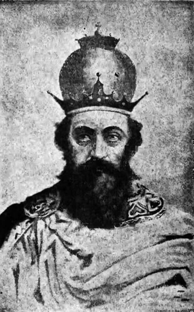 Король Руси Даниил Галицкий. Рисунок начала ХХ века