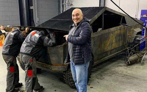 В России тоже построили Tesla Cybertruck, но на базе УАЗа