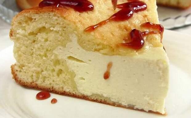 Ленивая ватрушка с творогом - любимый рецепт домашней выпечки!